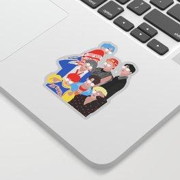 BTS DNA Group Portrait Sticker