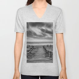 Come to the beach.... Summer dreams Unisex V-Neck