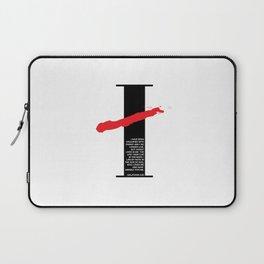 No Longer I. Galatians 2:20 Laptop Sleeve