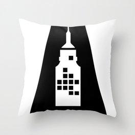 Artcotechsure: The A (white) Throw Pillow