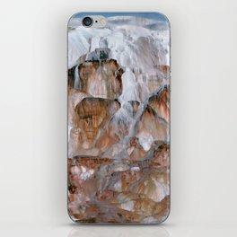 Mammoth Hot Springs Yellowstone iPhone Skin