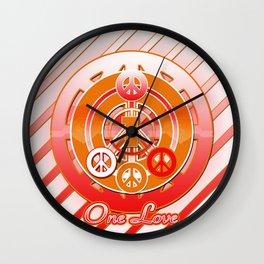 One Love (Dynasty) Wall Clock