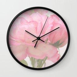 Gentleness - Soft Pink Rose #1 #decor #art #society6 Wall Clock