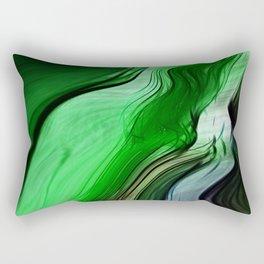 Liquid Grass Rectangular Pillow