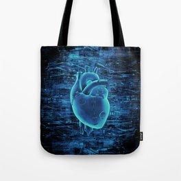Gamer Heart BLUE TECH / 3D render of mechanical heart Tote Bag