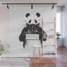 Bad panda Wall Mural