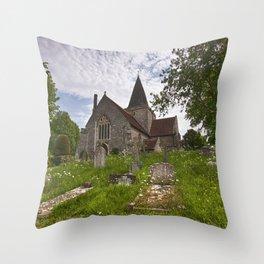 St Andrew Alfriston Throw Pillow