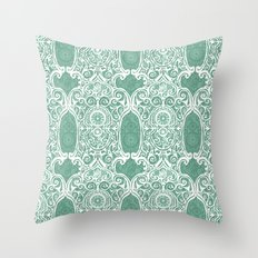 Arsenic and Clock Lace Throw Pillow
