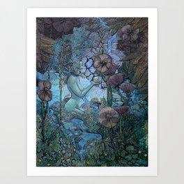 Gaian Forest Art Print