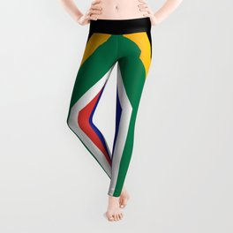South African flag of South Africa Leggings