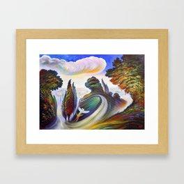 """Metamorfosi"" (Metamorphosis) Framed Art Print"