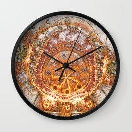 Solar Sanctum Wall Clock