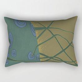 Neural Cactus Rectangular Pillow