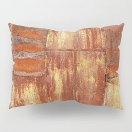 Rusty metal wall surface Pillow Sham