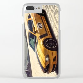 Boss 302 Mustang Clear iPhone Case