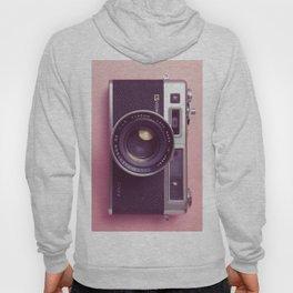 #04_Yashica electro 35#pink#film#effect Hoody