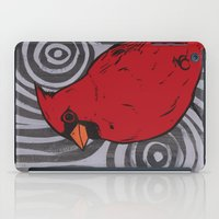 cardinal iPad Cases featuring Cardinal by turddemon