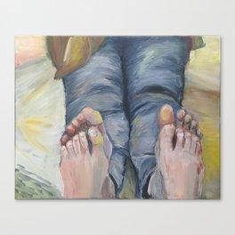 Boko maru painting Canvas Print