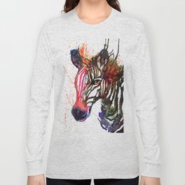 Zebra Splash Long Sleeve T-shirt