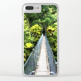 Is this your real path? The Bridge in Wild Rainforest Clear iPhone Case