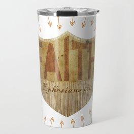 Shield of Faith Travel Mug