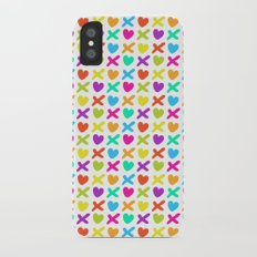 Hugs and kisses iPhone X Slim Case