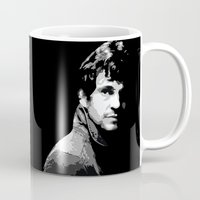 will graham Mugs featuring Will Graham from NBC's Hannibal by Alex Mathews