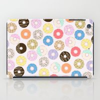 nutella iPad Cases featuring Donuts by Alexandra Aguilar