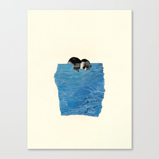 Body of Water Canvas Print
