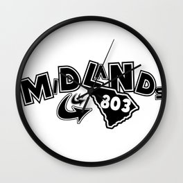 Midlands 803 Wall Clock