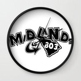 Midlands 803 Wall Clock