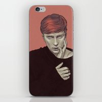 kieren walker iPhone & iPod Skins featuring Kieren Walker by Sudjino