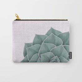 Big Green Echeveria Design Carry-All Pouch