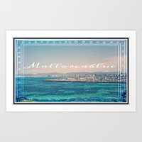 postales mallorca Art Print