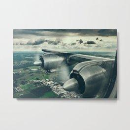 Window View Metal Print