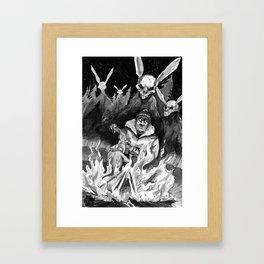 Hunter Beware Framed Art Print
