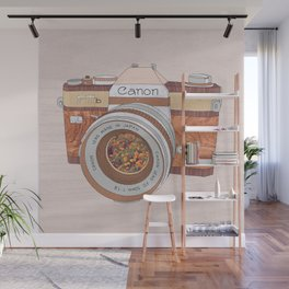 WOOD CAN0N Wall Mural