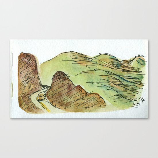 To Oaxaca Canvas Print