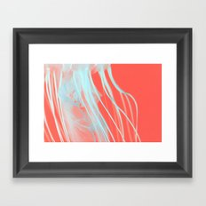 neon jelly Framed Art Print