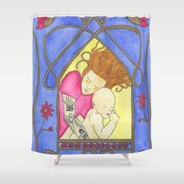 Icons of American Motherhood 2 Shower Curtain