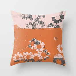 makenzie: ditsy florals Throw Pillow