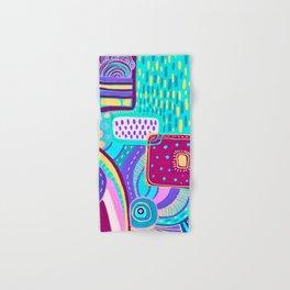 Pop Abstract Hand & Bath Towel