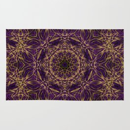 Purple Mandala Hippie Pattern Rug