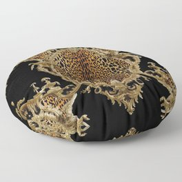 Leopard Chinoise Floor Pillow