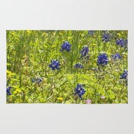 Texas Bluebonnets Rug