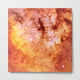 Interstellar clouds Metal Print