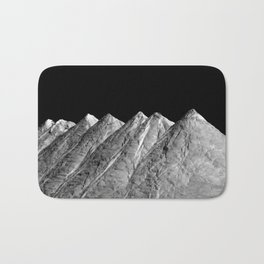 Salt Mountains Bath Mat