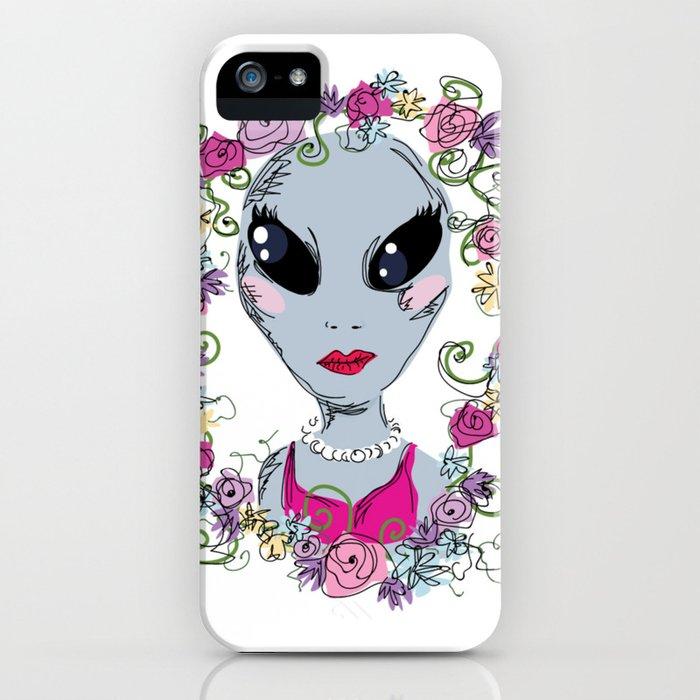 Grey Gal iPhone Case