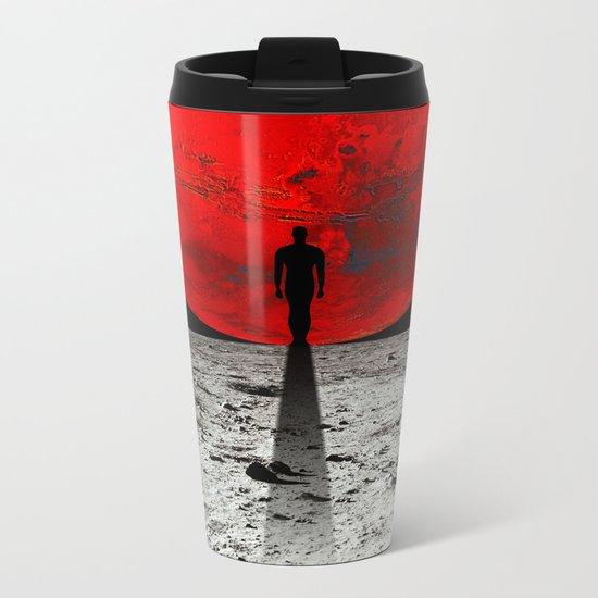 HOMESICKNESS Metal Travel Mug
