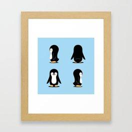 Penguin 360 Framed Art Print